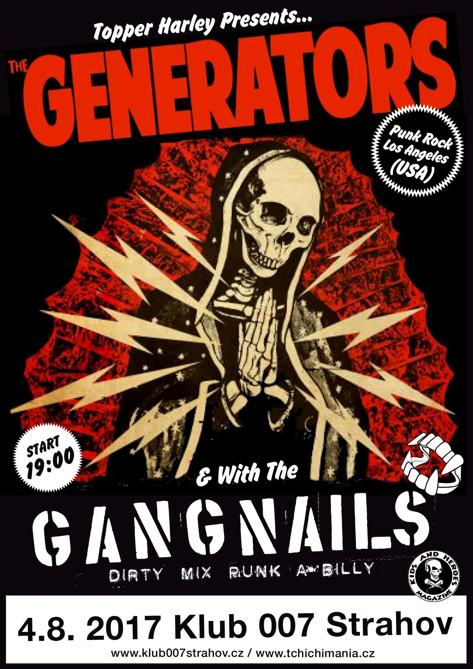 The Generators and the Gangnails