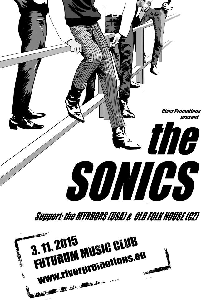 do Prahy zamíří legendární The Sonics