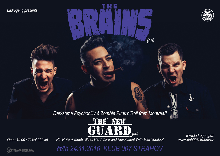 THE BRAINS (can), THE NEW GUARD (de)