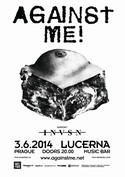 Against Me! (USA) 3.6.2014 – 20.00 Lucerna Music Bar - Praha